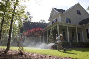 Manassas VA Pest Control company spraying